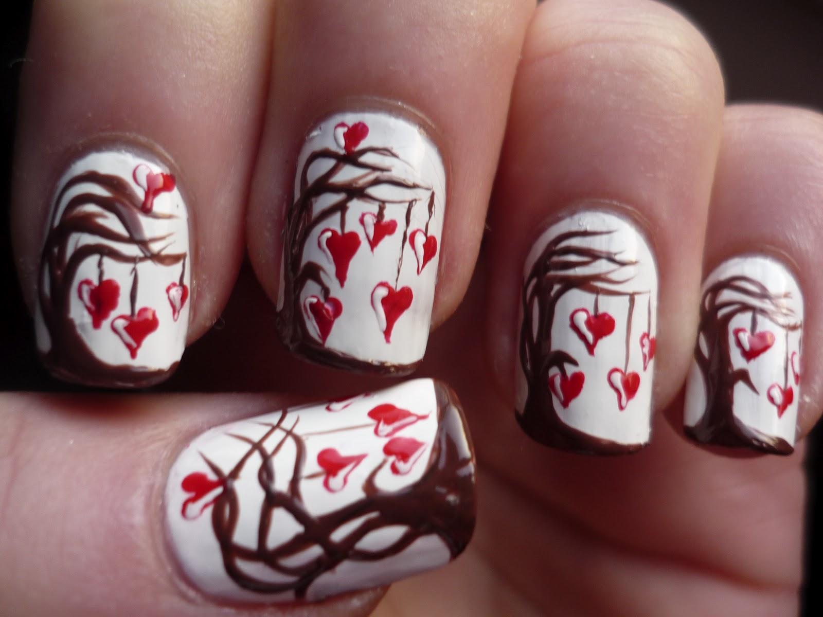 Love Tree Nail Art | Juliatmll Nail Art
