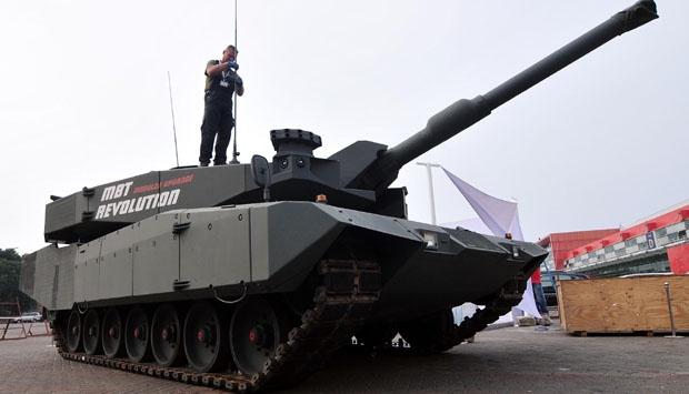 Jerman Setujui Penjualan Tank ke Indonesia