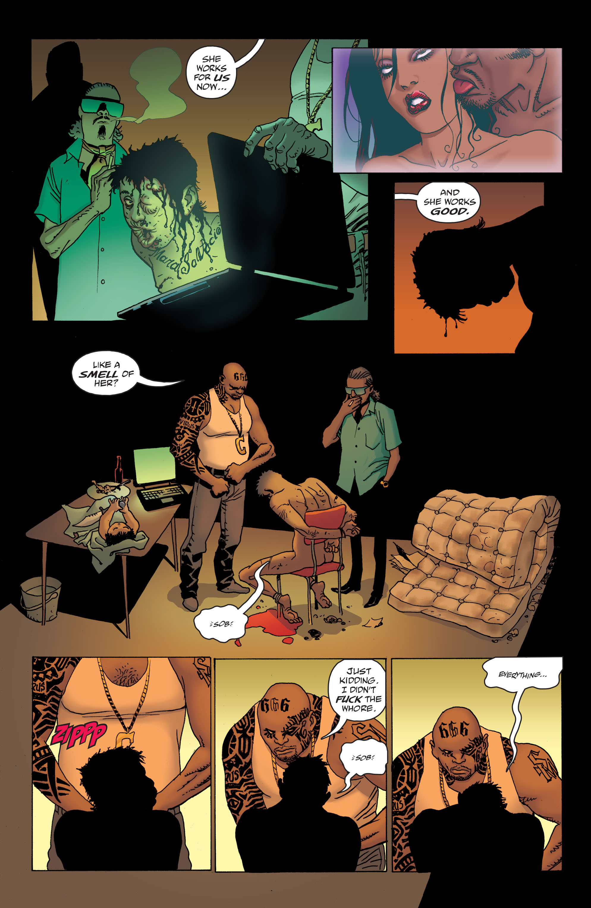 100 Bullets: Brother Lono Full Page 13