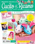 Su Cucito&Ricamo n.3 un mio progetto :la tovaglia con i papaveri