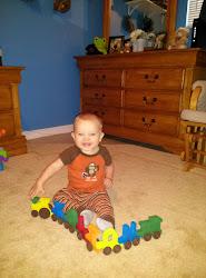 Kolton 8 Months Old