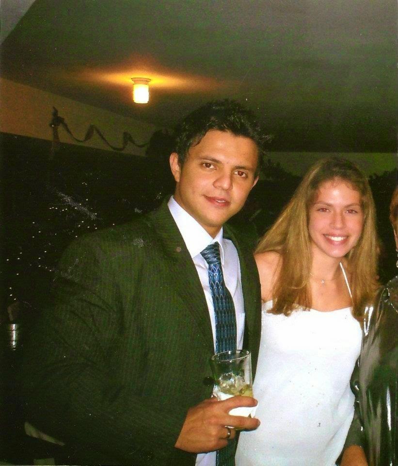 Ricardo Sanchez con Adriana.