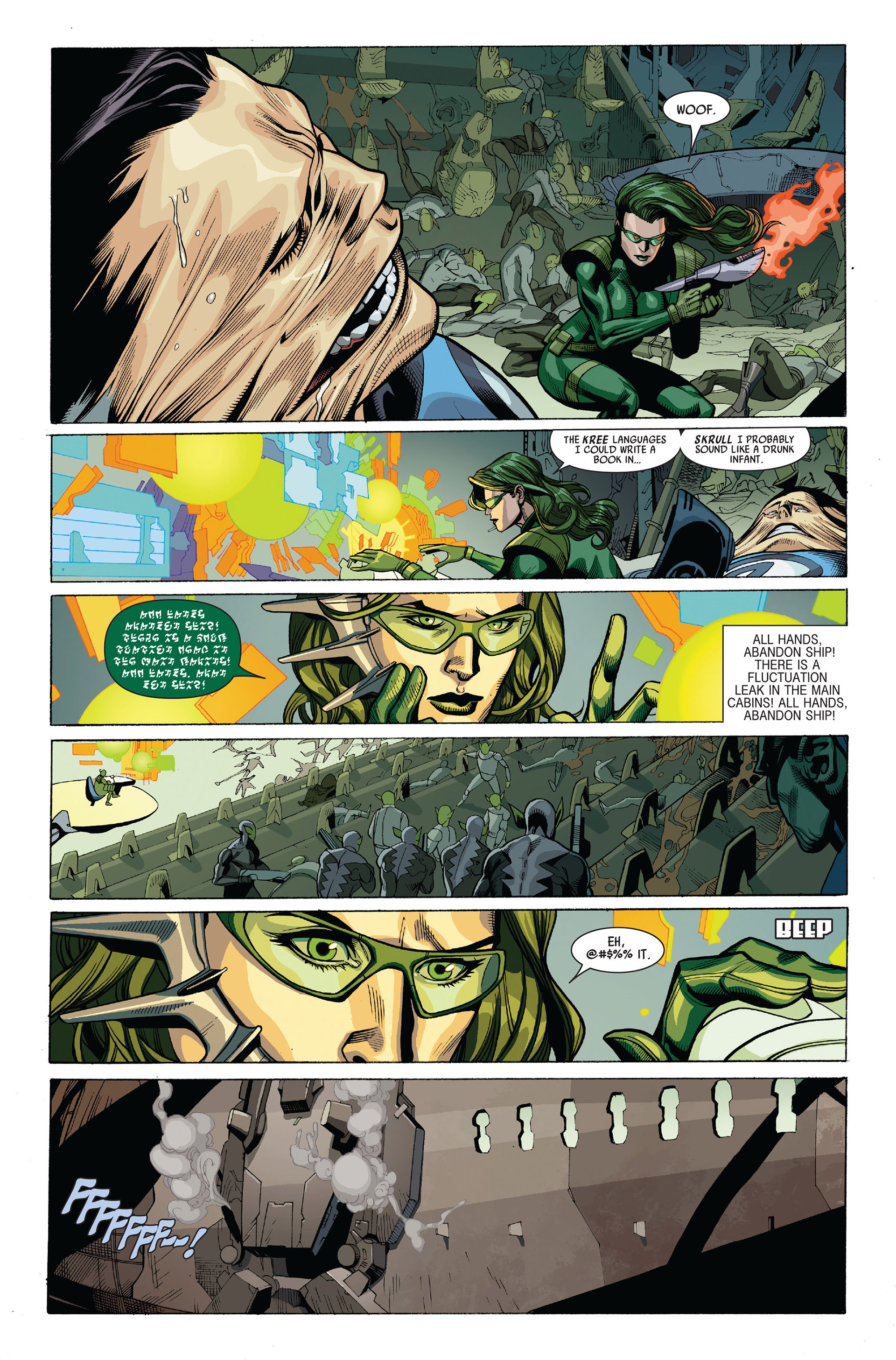 Read online Secret Invasion comic -  Issue #5 - 9