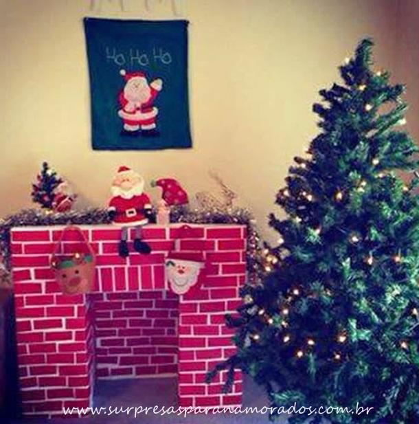 decoração barata de natal