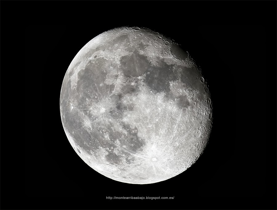 La Luna desde Gredos