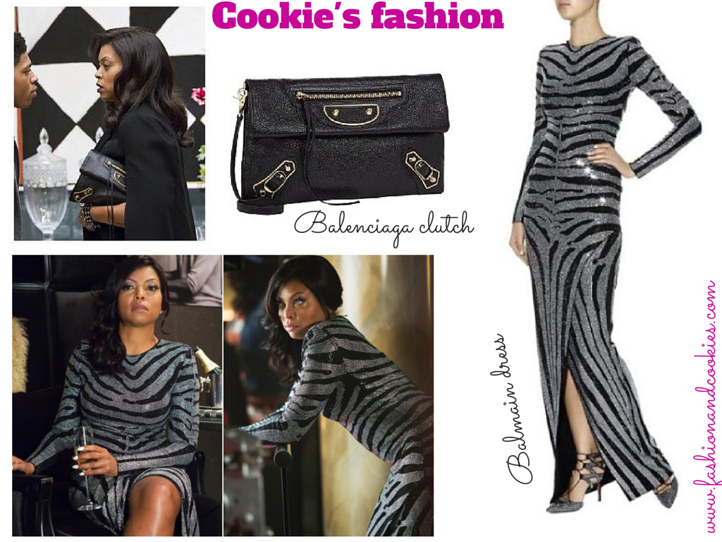 Cookie Lyon Balmain dress, Balenciaga clutch Cookie Lyon, zebra dress, Valentino rockstud pumps, Cookie Lyon outfit, Fashion and Cookies, fashion blogger, fashion blog