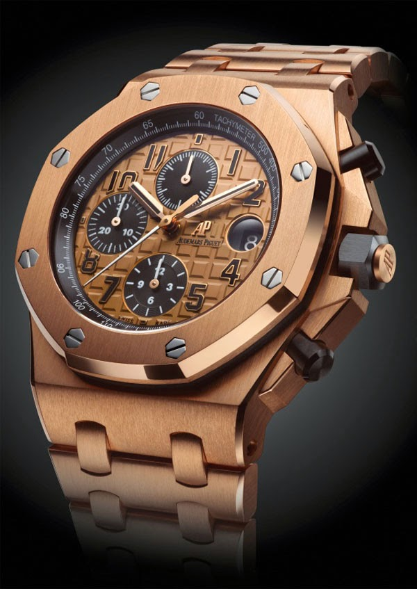 Sihh 2014 audemars piguet royal oak offshore chronograph 42mm 2014 collection time and watches for Royal oak offshore rose gold 42mm