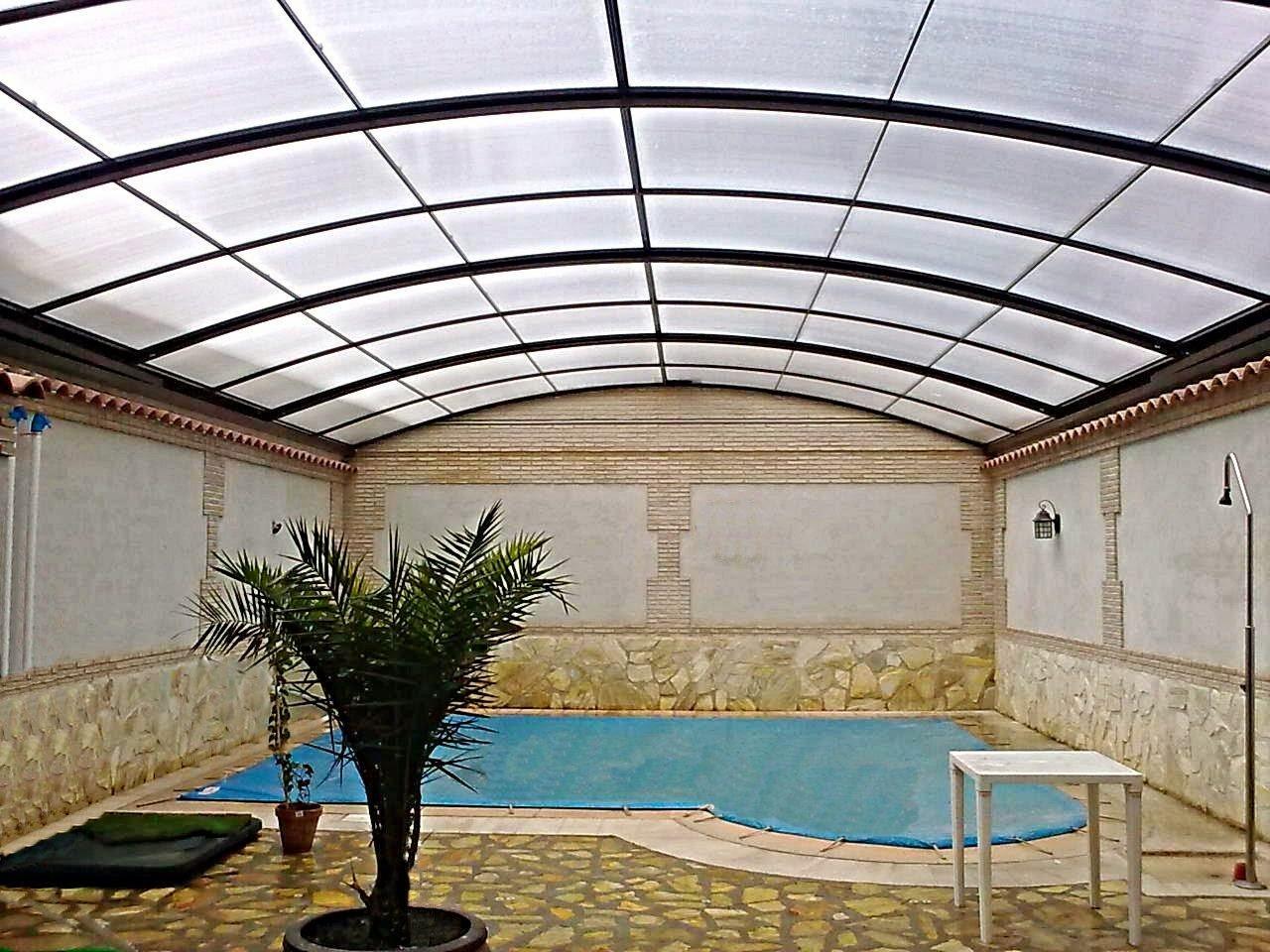 Cubiertas baratas para patios de chalets cerramientos y for Techos de tejas para patios exteriores