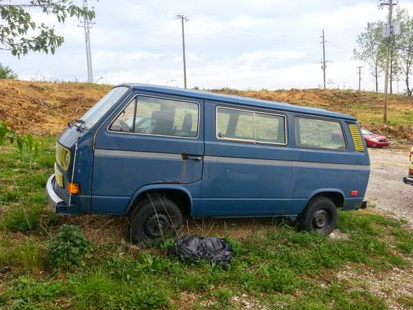 1980 VW T3 Vanagon No Run | vw bus wagon