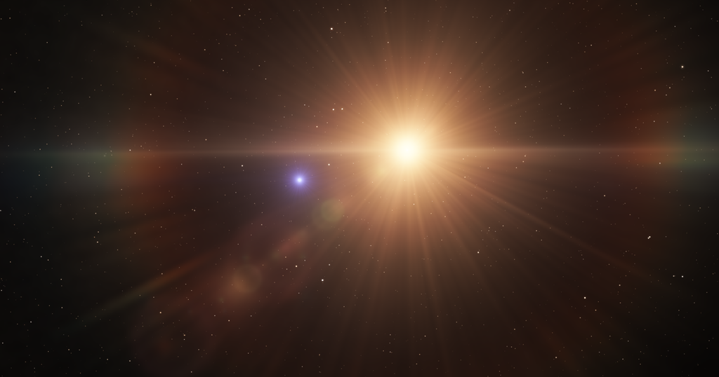 quadruple star system with planets - photo #12