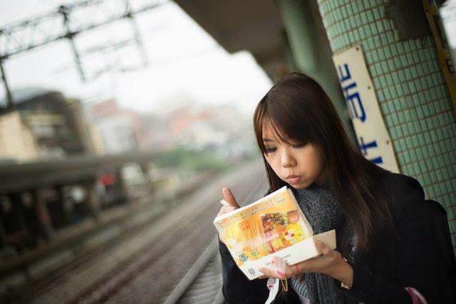 台彎台北瑞芳車站 Taiwan Taipei Ruifang Station TRA Pinghsi Line Shifen Bento