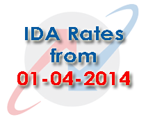 BSNL Employees IDA Industrial DA Rates from 1st April 2014