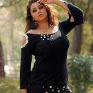 Namitha in Black Dress Spicy Photos