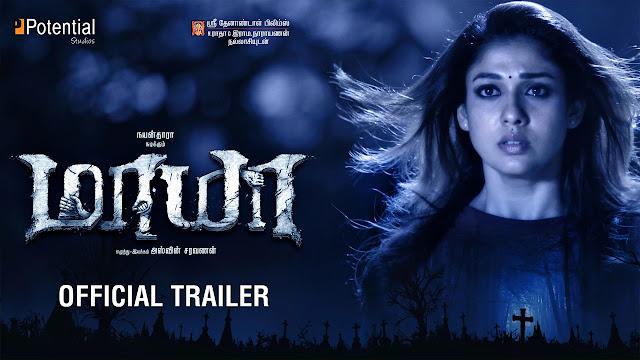 Maya Official Trailer | Nayanthara | Aari
