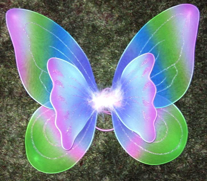 Como hacer alas de mariposa para disfraz - Imagui