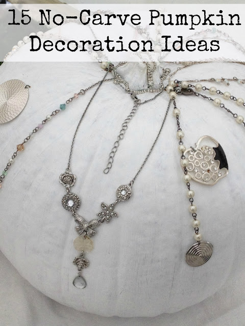 Steampunk Pumpkin vintage jewellery