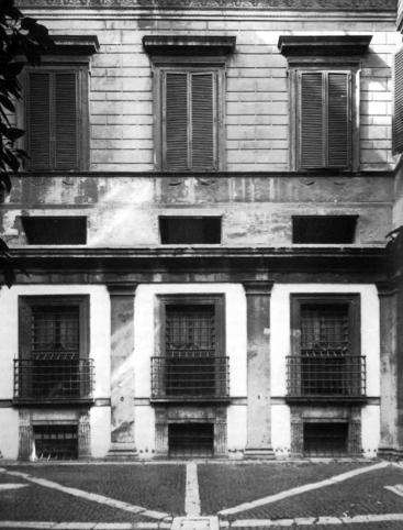 L 39 architettura del quattrocento cinquecento e seicento palazzo massimo alle colonne a roma - Finestre a bocca di lupo ...