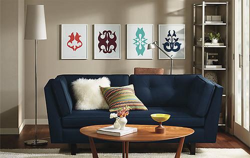 Modern Furniture: 2014 Comfort Modern Living Room Decorating Ideas