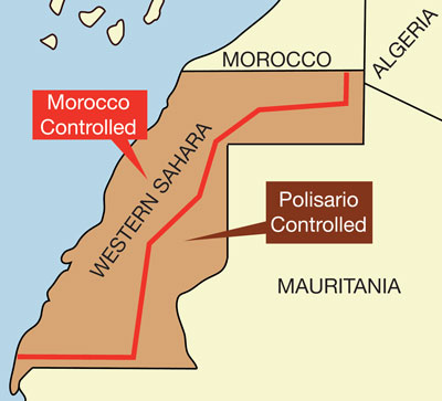western sahara research paper