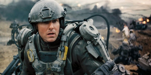 Tom Cruise em NO LIMITE DO AMANHÃ (Edge of Tomorrow)