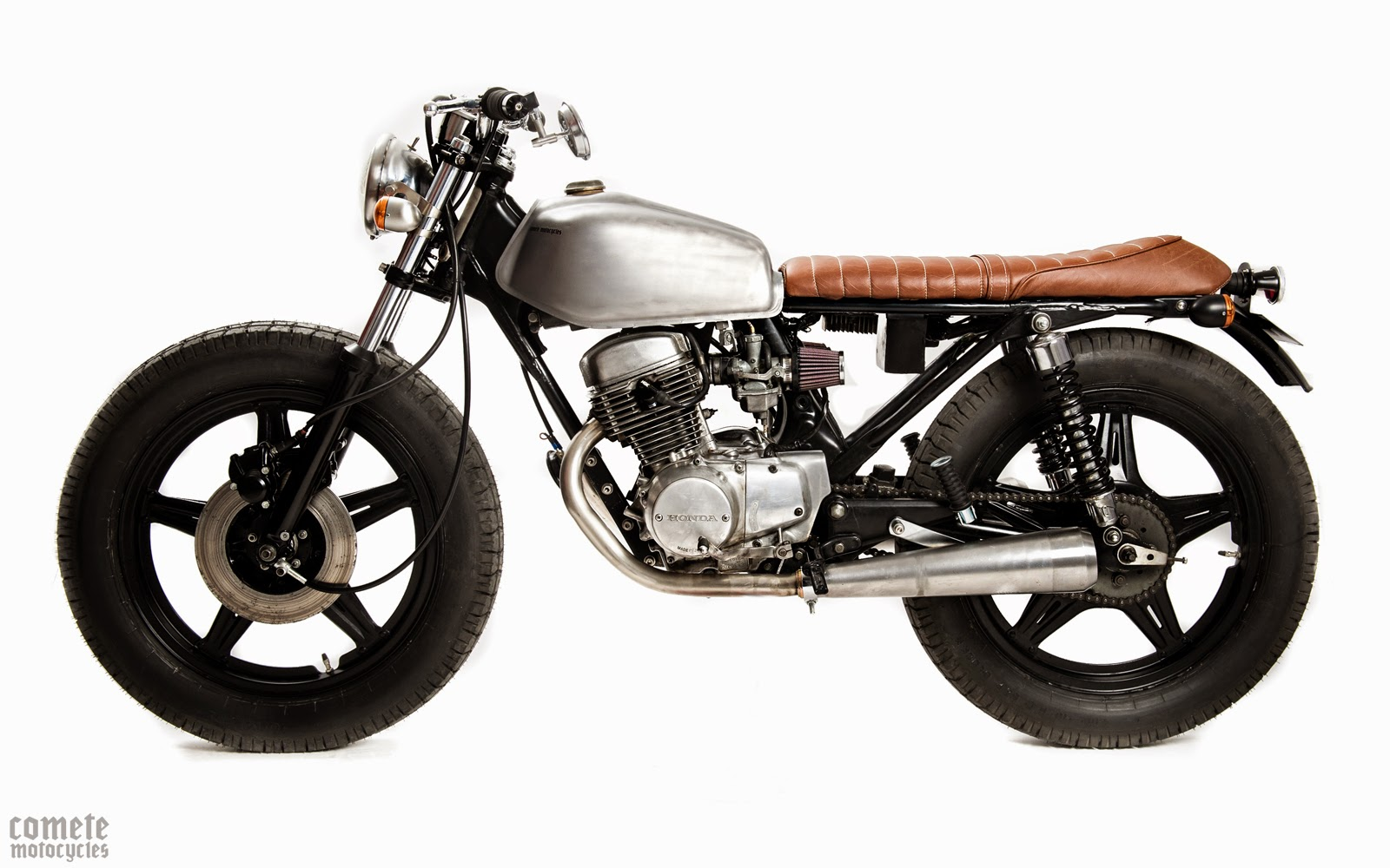 milchapitas kustom bikes honda cb125 twin 1980 by comete motorcycles. Black Bedroom Furniture Sets. Home Design Ideas