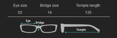 glasses measurements