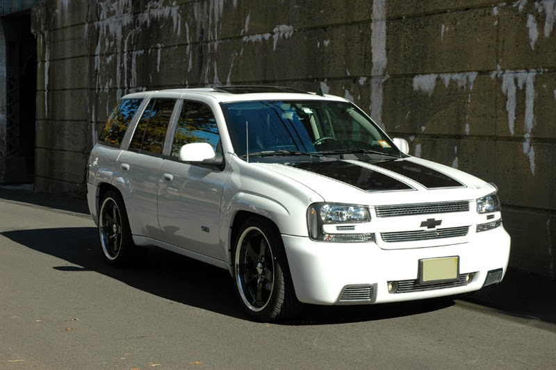 Gambar Modifikasi Mobil Chevrolet Trailblazer