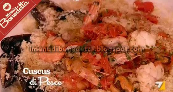 Cous Cous di Pesce di Benedetta Parodi