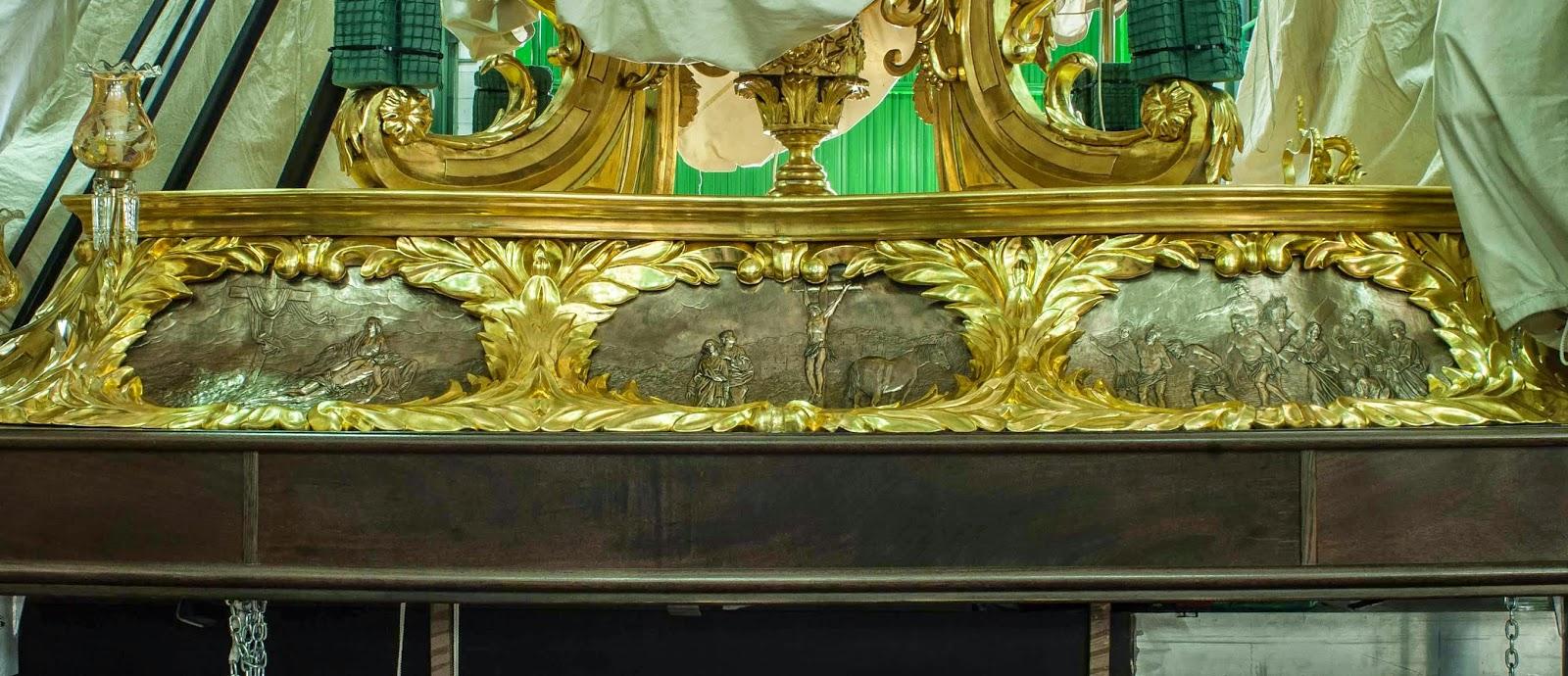 Trono Soledad Semana Santa Cartagena Murcia Arturo Serra escultura 8