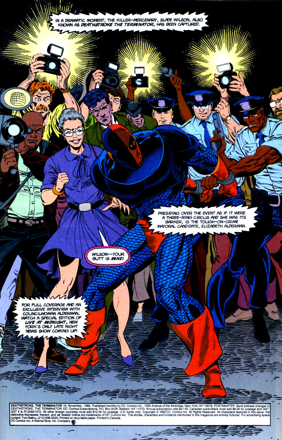 Deathstroke (1991) Issue #16 #21 - English 2