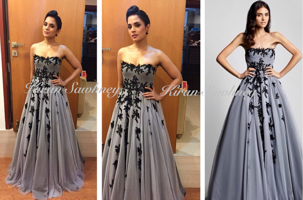 Richa Chadha At Filmfare Awards 2015 in Hema Kaul