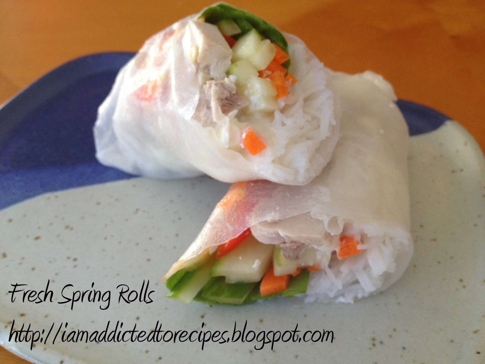 Fresh Spring Rolls | Addicted to Recipes