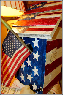 photo of: Americana Birdhouse