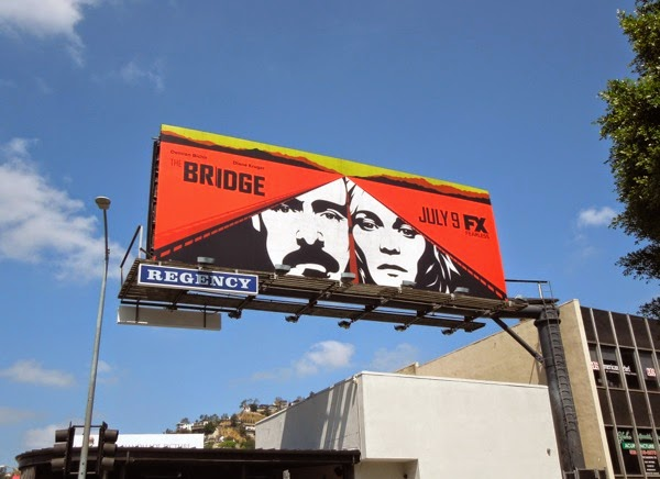 The Bridge season 2 FX billboard