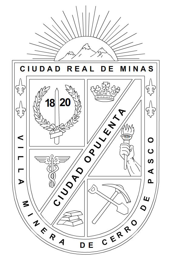 Den Tinsoldat: Escudo de Pasco