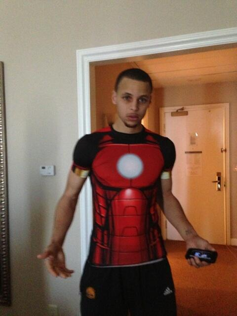 Does stephen curry have a tattoo stephen curry is ironman