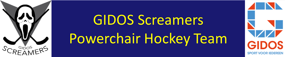 GIDOS Screamers Powerchair Hockey Team