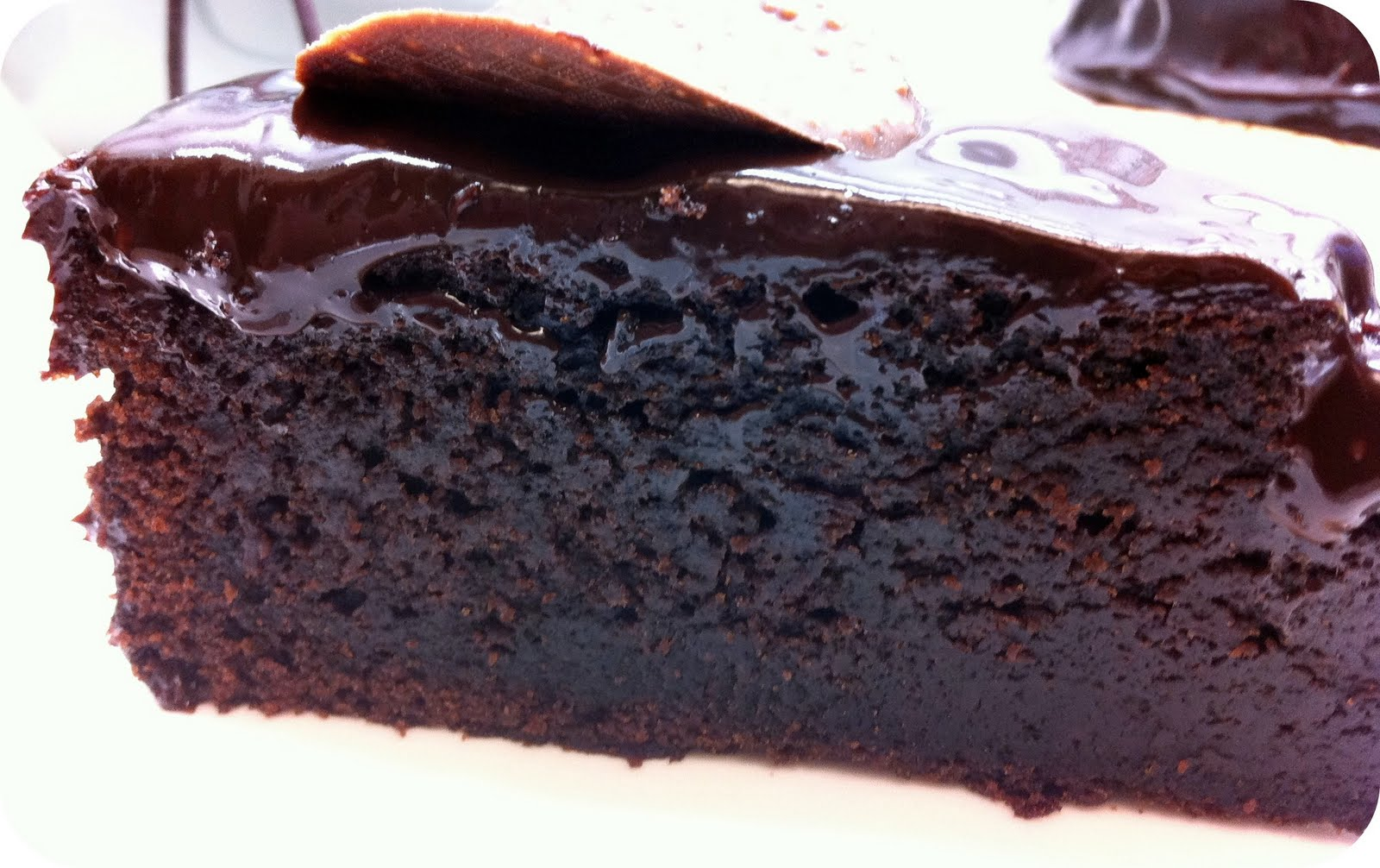 ... in Taiwan: Christelle's Chocolate Mayonnaise Cake with Ganache