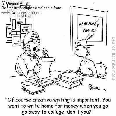 Guidance Counselor Cartoon Dijelaskan bahwa ekspektasi