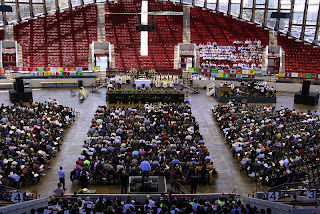 St. Michael 50th Anniversary Mass at the Dorton Arena