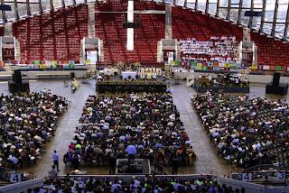 St. Michael 50th Anniversary Mass at the Dorton Arena