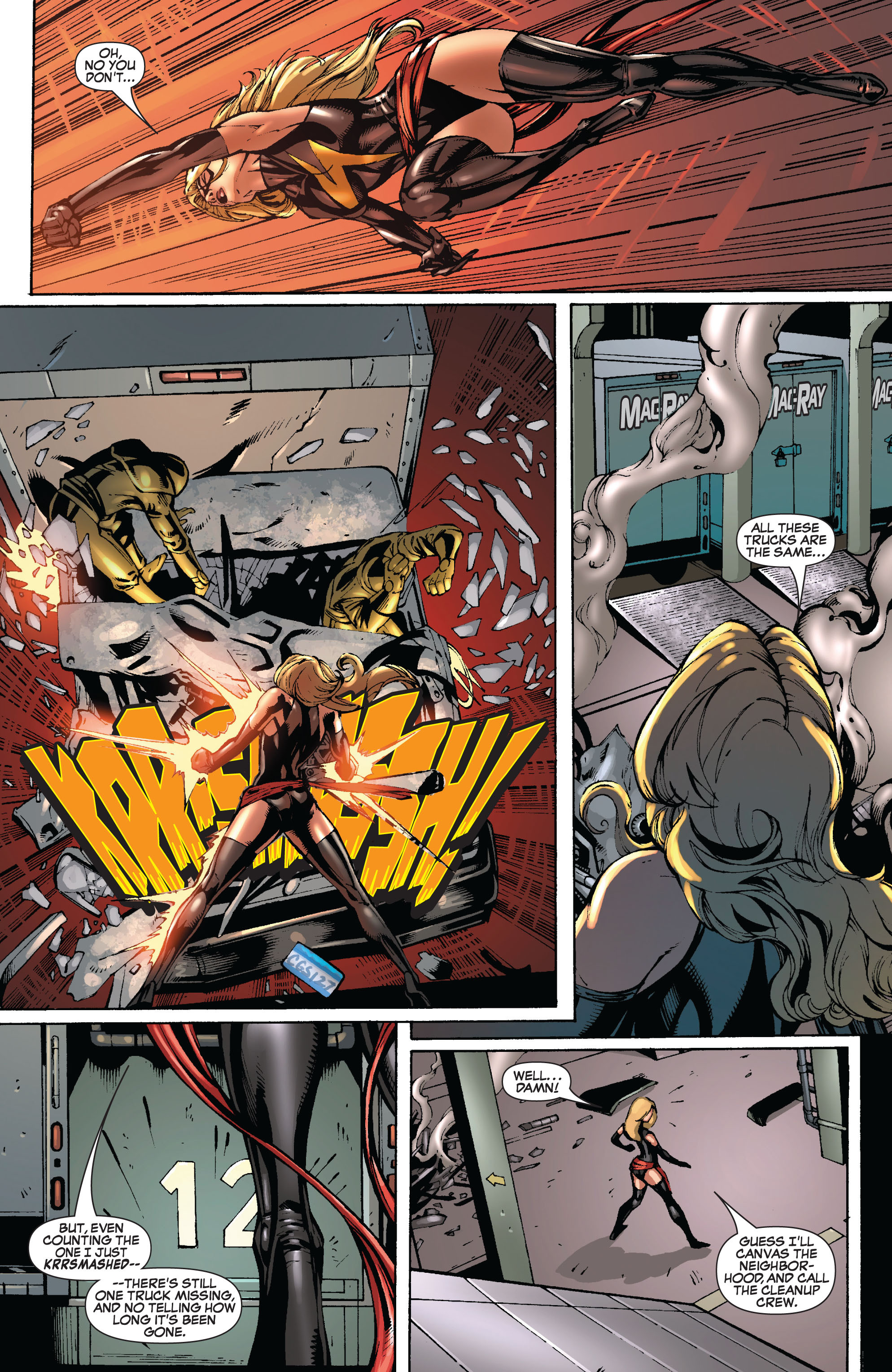 Read online Secret Invasion: The Infiltration comic -  Issue #8 - 12