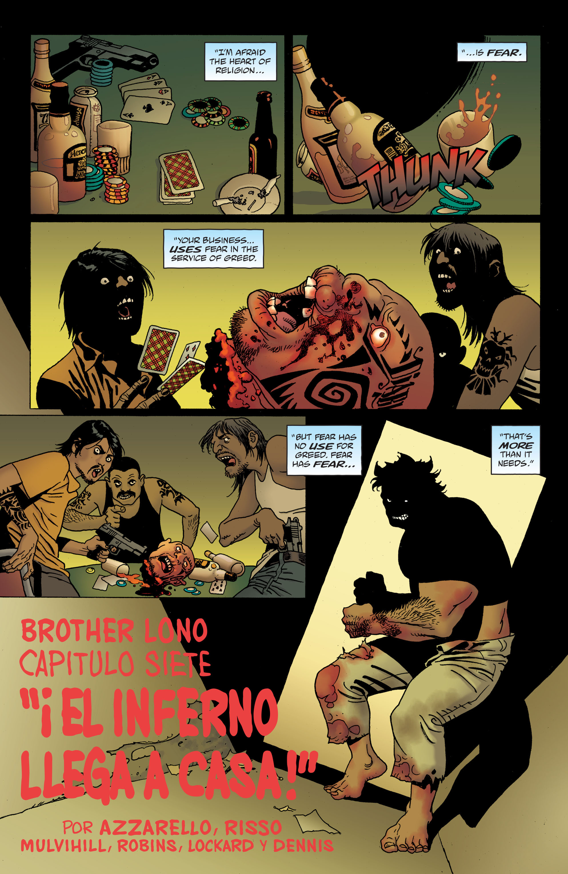 100 Bullets: Brother Lono Full Page 165