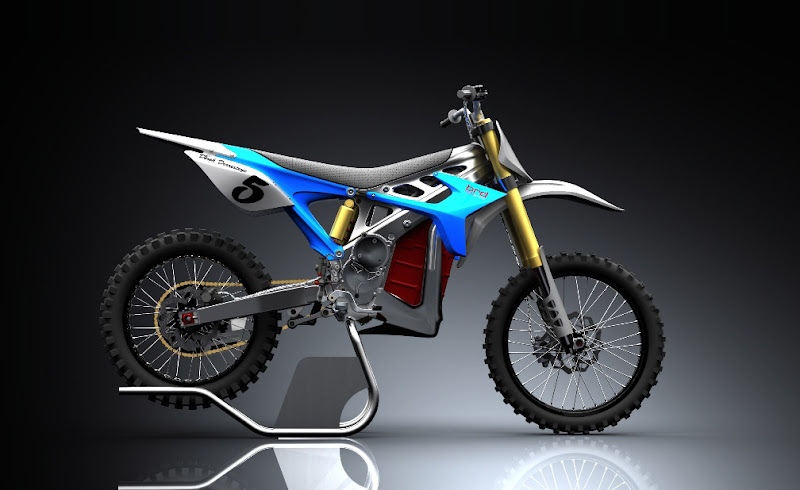 Prototype Bike BRD RedShift Electric Motocross