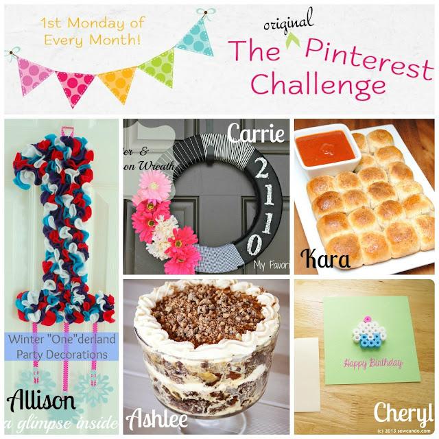 February Pinterest Challenge