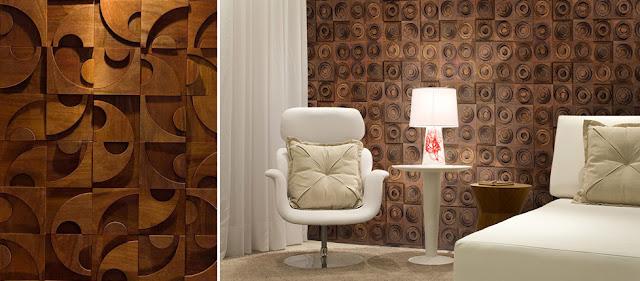 Revestimientos de pared de madera ii espacios en madera - Paneles revestimiento interior ...