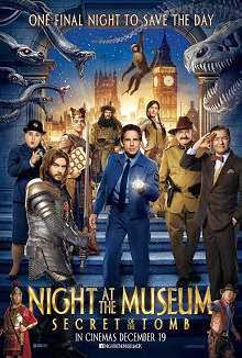 Night at the Museum: Secret of the Tomb (2014) English Movie Poster