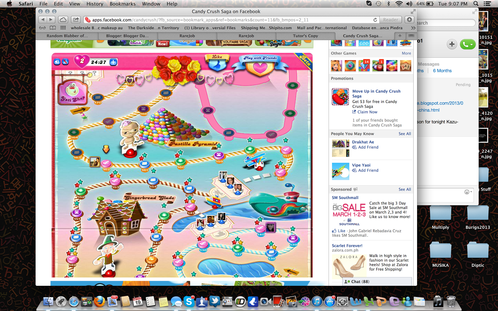 1600 x 1000 · 1858 kB · png, My level in candy crush saga a lot of