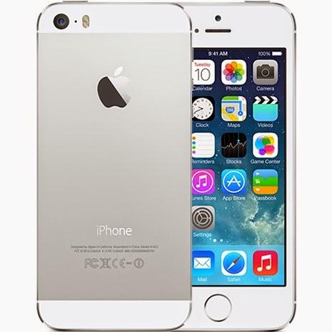 Мобильный телефон Apple iPhone 5s 16 Гб Silver с ультра современным 64-разрядным процессором A7