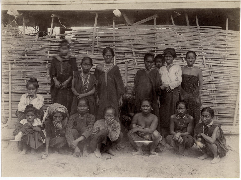 Group of Tribal Women - India c1880's